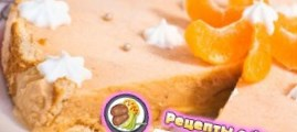 Рецепт персикового торта – мороженого