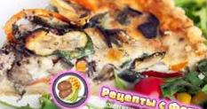 Рецепт слоеного пирога с грибами и картофелем