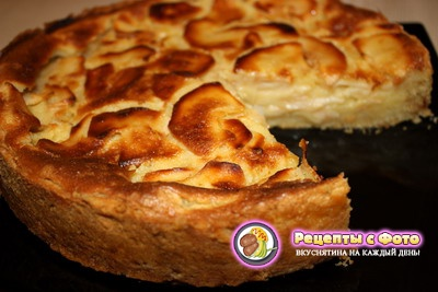 Рецепт французского яблочного пирога