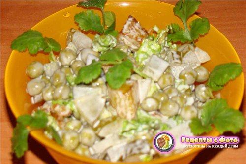 Рецепт салата «Новогодний сюрприз»