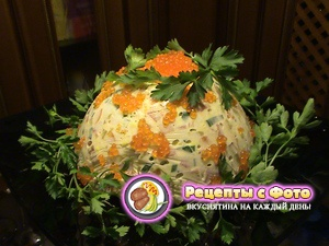 Рецепт салата «Новогодний»