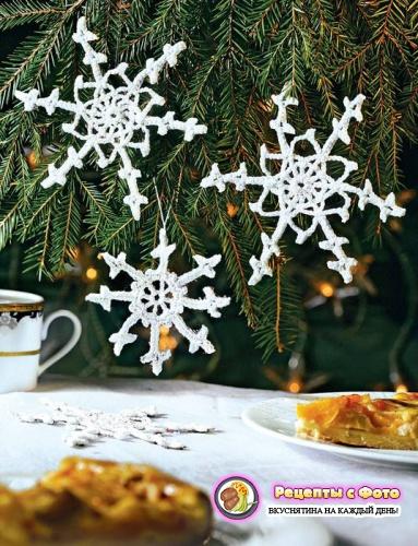 """Рецепт - Печенье """"Новогодние снежинки"""""""