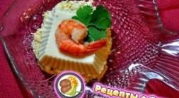 Рецепт – Сливочный мусс из белой рыбы с креветочным соусом на 14 февраля