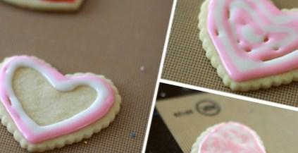 Рецепт – Печенье с глазурью на День Влюбленных