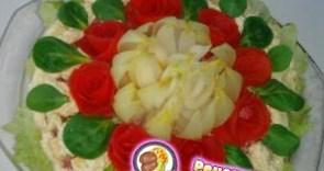 Рецепт – Салат к 8 марта