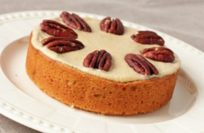 Рецепт - Кекс с кофе, кленовым сиропом и пеканом на 14 февраля