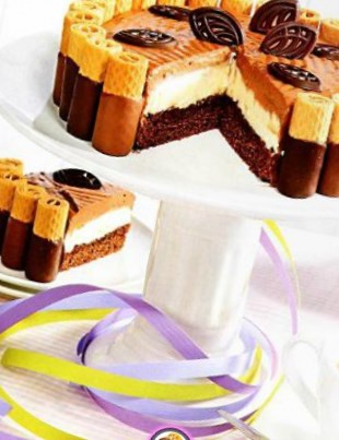 Рецепт – Торт с маскарпоне к 8 марта