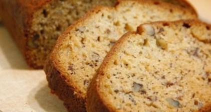 Рецепт бананового хлеба с орешками