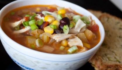 Рецепт - Острый куриный суп в мексиканском стиле