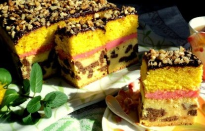 Рецепт торта «Секрет монашки»