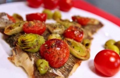 Рецепт - Камбала по-итальянски