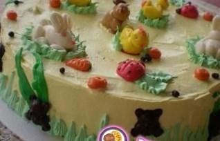Рецепт детского торта с мастикой