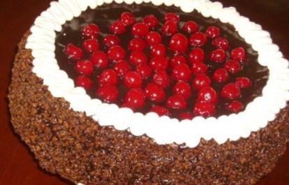 Рецепт  торта «Вишневый сад»