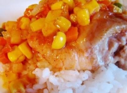 Рецепт - Курица по-мексикански