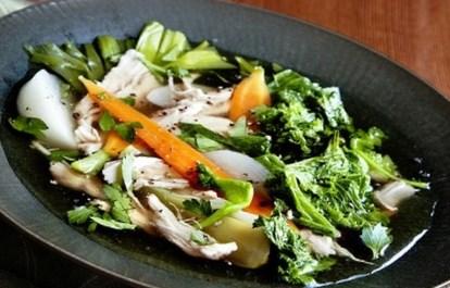 Рецепт куриного пот-а-фе с капустой кале