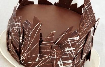 Рецепт шоколадного торта с кремом ганаш