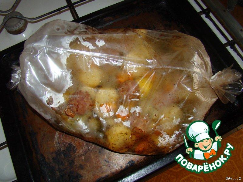 Блюда из фарша и картошки в духовке рецепт с пошагово в