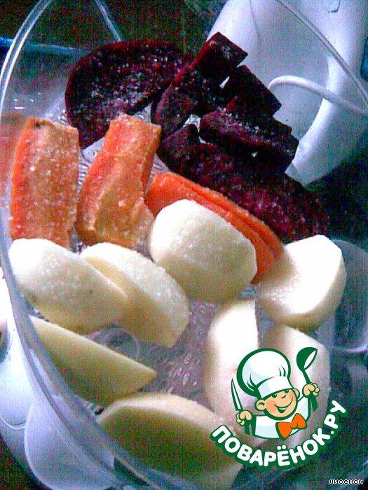 Мясной салат из... пароварки