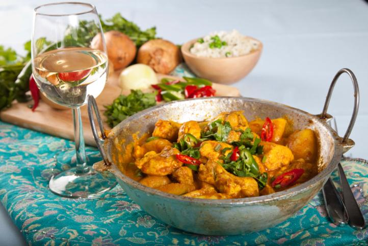 рецепты курицы по индийски
