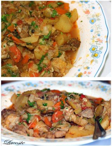 Рагу с мясом и овощами рецепт капуста