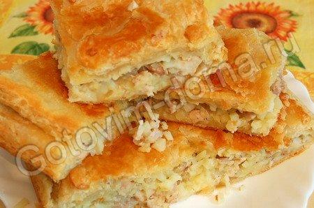 Пирог из курицы