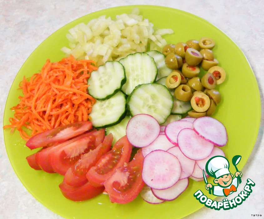 рецепт салата с перцем помидоры яблоки на зиму