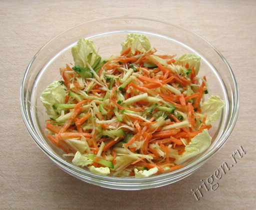 Салат салют фото
