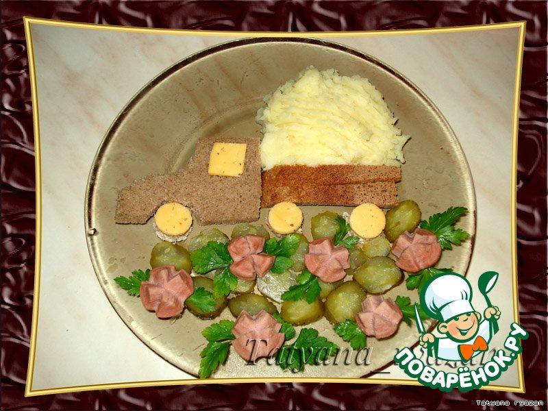 Ужин рецепт пошаговый