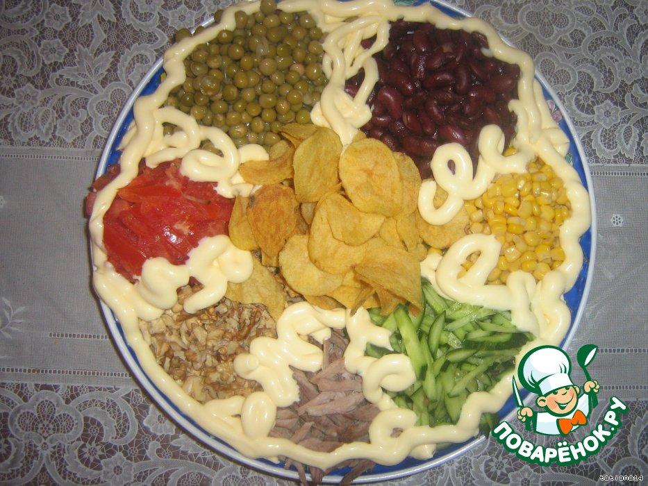 Салат наурыз рецепт