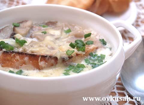 итальянский грибной суп пюре рецепт