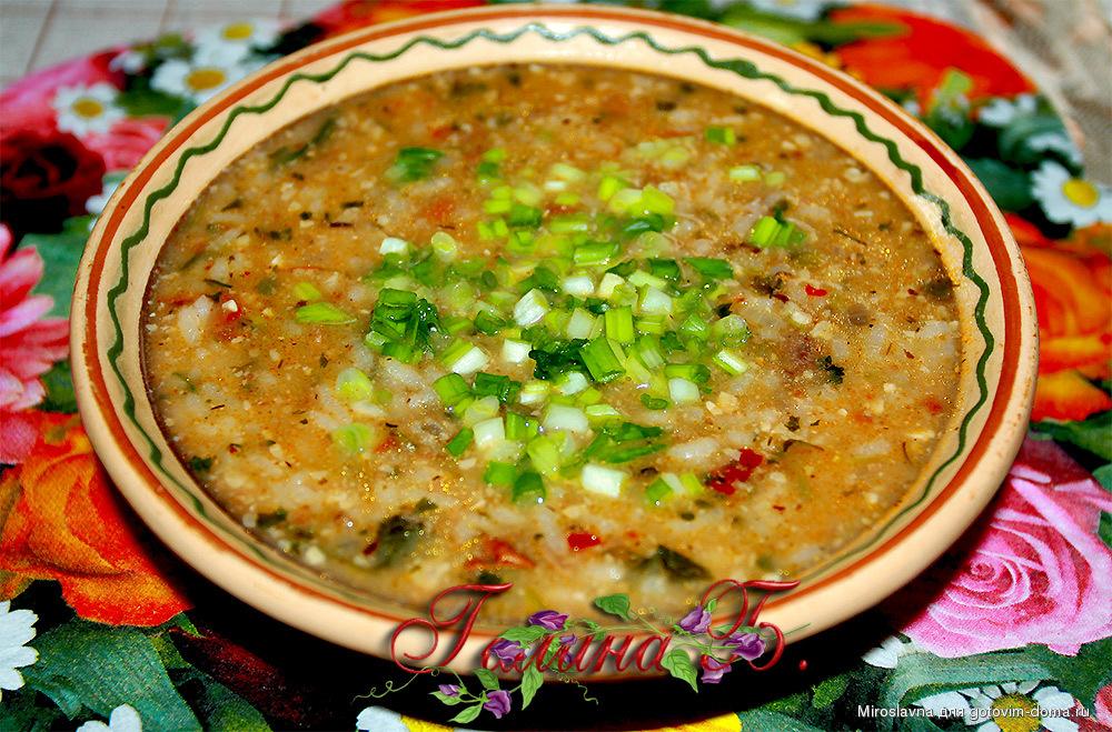 Суп харчо приготовления в домашних условиях с грецкими орехами