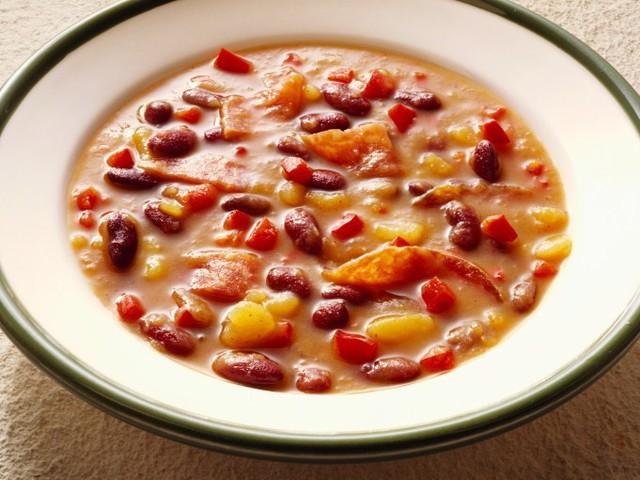 Блюда из красной консервированной фасоли рецепты