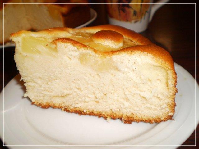 пирог со сгущёнкой: