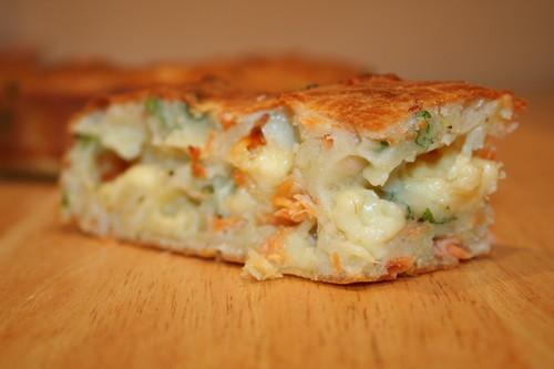 Пирог с рыбой и картофелем рецепты.