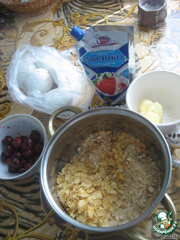 рецепт приготовления несложного печенья