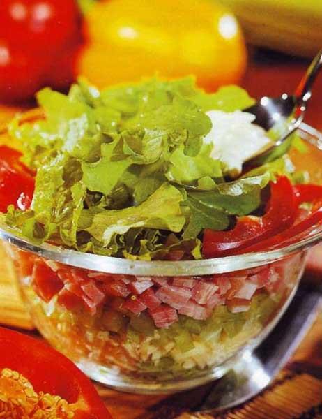 Вкусные салаты с растительным маслом рецепты
