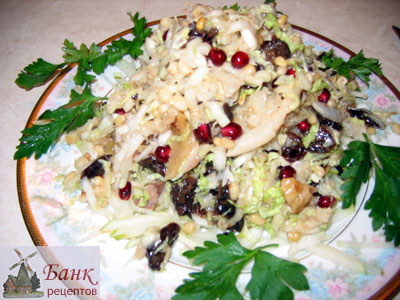 Салат деликатесный