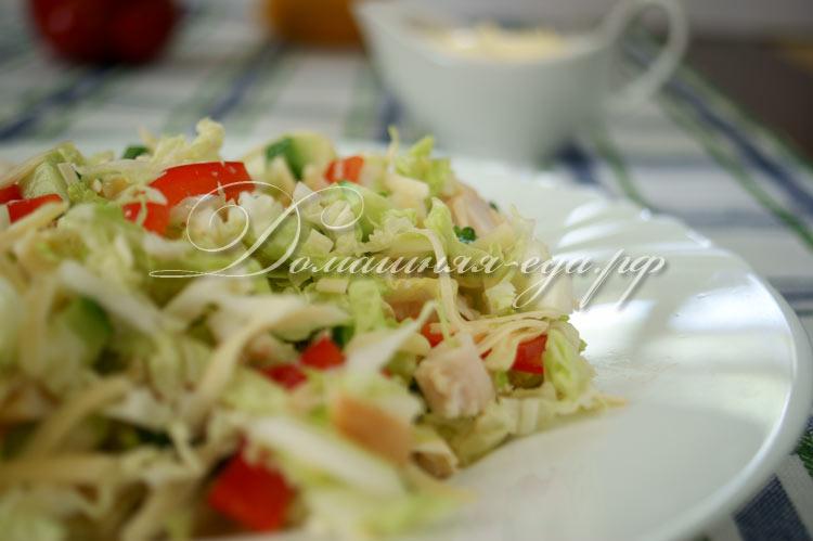 кириешки хрен с холодцом салат