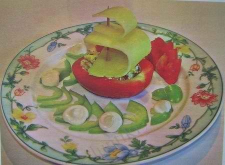 пирог рыбный открытый рецепт с фото #9
