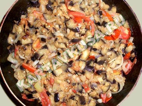 рецепты из баклажанов вкусные