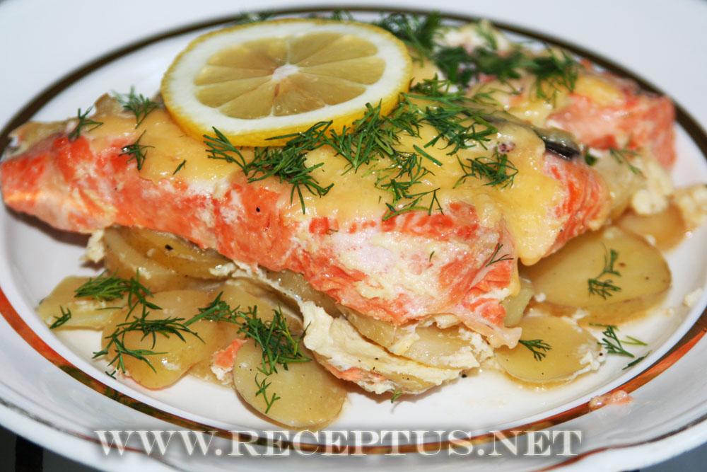 рецепты из рыбы сайда в духовке