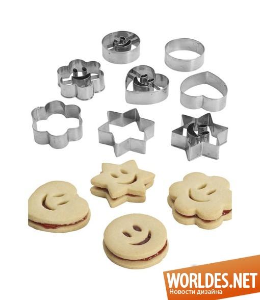 Формочки для выпекания печенья своими руками