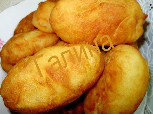 Жареные пирожки рецепт с фото начинкой
