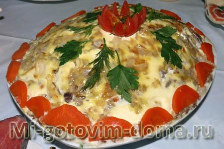 вкусные салаты из редиски рецепты с фото