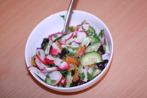 салаты из редиса рецепты с фото простые и вкусные рецепты фото
