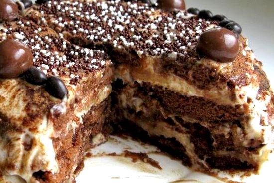 Торт без выпечки панчо вкусные и