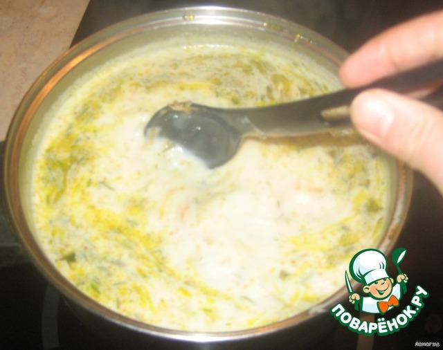как варить суп из плавленных сырков рецепт