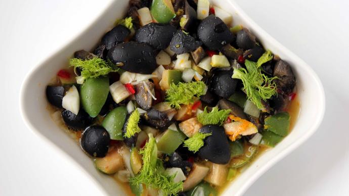 рецепты салатов с кунжутом с фото