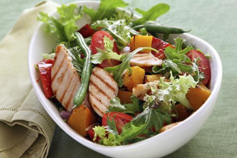жиросжигающий салат рецепт