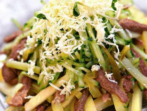 Китайский салат из языка говяжьего рецепт